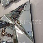Hipnoz Small Silver Model Modern Ayna-19