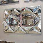 Hipnoz Small Silver Model Modern Ayna-2