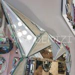 Hipnoz Small Silver Model Modern Ayna-22