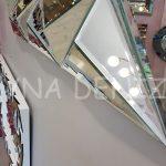 Hipnoz Small Silver Model Modern Ayna-23