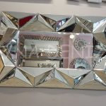 Hipnoz Small Silver Model Modern Ayna-5