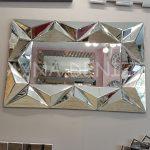 Hipnoz Small Silver Model Modern Ayna-6