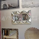 Hipnoz Small Silver Model Modern Ayna-7