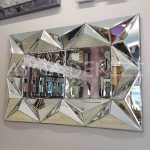 Hipnoz Small Silver Model Modern Ayna-8