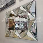 Hipnoz Small Silver Model Modern Ayna-9