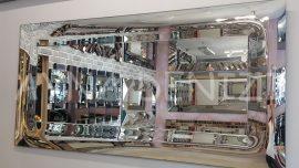Pandorya Model Bombeli Modern Ayna