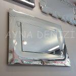 Pandorya Small Silver Model Modern Ayna-8