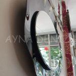 Wavy Night Model Elips Modern Ayna-14