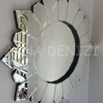 Daisy Black Naturel Model Siyah Şeffaf Renk Modern Ayna-10