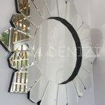 Daisy Black Naturel Model Siyah Şeffaf Renk Modern Ayna-12
