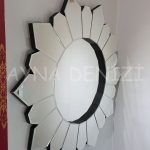 Daisy Black Naturel Model Siyah Şeffaf Renk Modern Ayna-15