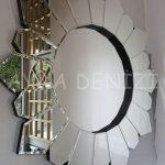 Daisy Black Naturel Model Siyah Şeffaf Renk Modern Ayna-17