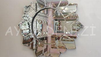 Daisy Black Naturel Model Siyah Şeffaf Renk Modern Ayna