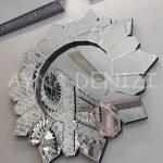Daisy Black Naturel Model Siyah Şeffaf Renk Modern Ayna-4