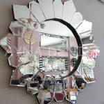 Daisy Black Naturel Model Siyah Şeffaf Renk Modern Ayna-7