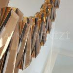 Güneş Golden Bronze Model Altın Bronz Renk Modern Ayna-24