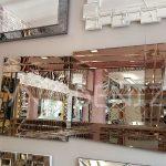 Zoro Bronze Model Modern Ayna-1