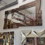 Zoro Bronze Model Modern Ayna-11