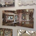 Zoro Bronze Model Modern Ayna-3