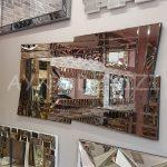 Zoro Bronze Model Modern Ayna-5