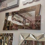 Zoro Bronze Model Modern Ayna-6
