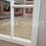 Lecce Model Beyaz Renk Dekoratif Pencere Ayna-14