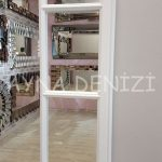 Lecce Model Beyaz Renk Dekoratif Pencere Ayna-17