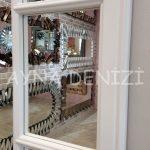 Lecce Model Beyaz Renk Dekoratif Pencere Ayna-20
