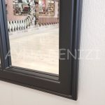 Lecce Model Siyah Renk Dekoratif Pencere Ayna-18