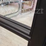 Lecce Model Siyah Renk Dekoratif Pencere Ayna-22
