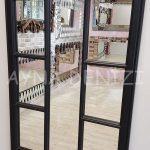 Lecce Model Siyah Renk Dekoratif Pencere Ayna-23
