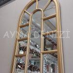 Padova Model Altın Renk Dekoratif Pencere Ayna-13