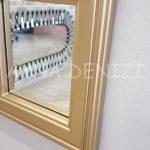 Padova Model Altın Renk Dekoratif Pencere Ayna-18