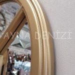 Padova Model Altın Renk Dekoratif Pencere Ayna-20