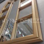 Padova Model Altın Renk Dekoratif Pencere Ayna-22