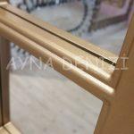 Padova Model Altın Renk Dekoratif Pencere Ayna-23