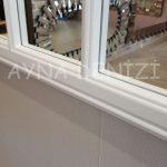 Padova Model Beyaz Renk Dekoratif Pencere Ayna-21
