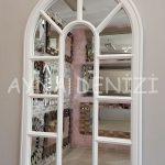 Padova Model Beyaz Renk Dekoratif Pencere Ayna-4