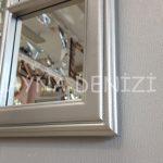 Padova Model Gümüş Renk Dekoratif Pencere Ayna-17