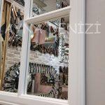 Ravenna Model Beyaz Renk Dekoratif Pencere Ayna-15