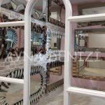 Ravenna Model Beyaz Renk Dekoratif Pencere Ayna-21