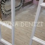 Ravenna Model Beyaz Renk Dekoratif Pencere Ayna-22