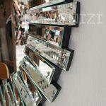 Vintage Silver Lükens Model Gümüş Renk Aynalı Dresuar Takımı-21