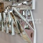 Akustik White Silver Model Beyaz Şeffaf Renk Modern Ayna-16