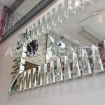 Akustik White Silver Model Beyaz Şeffaf Renk Modern Ayna-18