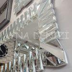 Akustik White Silver Model Beyaz Şeffaf Renk Modern Ayna-21
