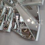 Akustik White Silver Model Beyaz Şeffaf Renk Modern Ayna-22