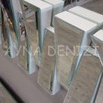 Akustik White Silver Model Beyaz Şeffaf Renk Modern Ayna-23