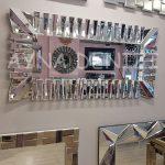 Akustik White Silver Model Beyaz Şeffaf Renk Modern Ayna-4