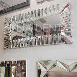 Akustik White Silver Model Beyaz Şeffaf Renk Modern Ayna-6